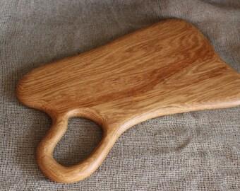 Rare Wood Cutting Board, Natural Oak Wood, Rustic Cutting Board, Custom Board, Serving Board, Chopping Board, Bread Board, Cheese Board