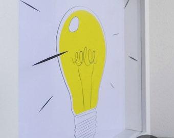 Great Idea - 3D art print