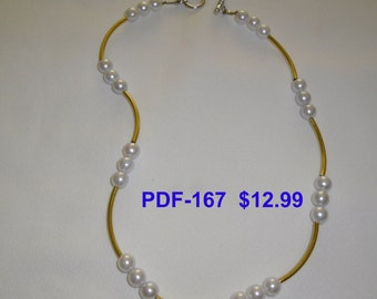 Necklace  PDF-167       Copyrighted item