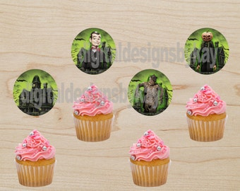 Goosebumps Birthday Party Cupcake Toppers, Goosebumps, Goosebumps Birthday, Goosebumps Party, Goosebumps Party, Goosebumps Cupcake Toppers