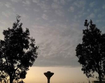Shenzhen evening cloud,Photography background prints Home decor wall dslr art Digital photos download