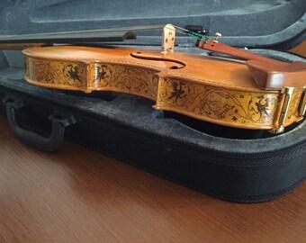 Stradivarius Greffuhle replica. Fiddle 4/4 size