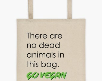 Vegan Cotton Canvas Grocery Bag