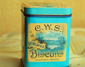 CWS 'Pineapple' Biscuit Tin