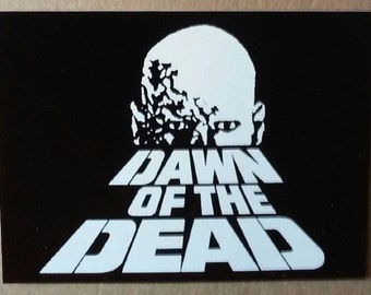 Dawn of the Dead - Vinyl STICKER - HORROR movie - George Romero, Zombies, Night of the Living Dead
