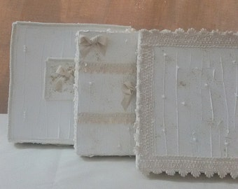 Hand-decorated boxes, shabby, gifts, weddings christenings, home décor