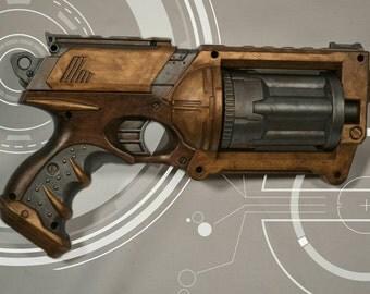 Steampunk/ Cyberpunk/ Cosplay Maverick Nerf Gun
