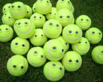 3D eyes eyes resin tennis ball