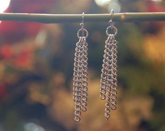 3-Chain Earrings