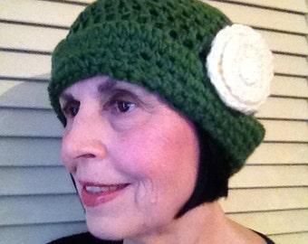 1920's style crochet cloche 6