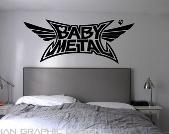 BabyMetal, Japanese Heavy Metal Band, Wall Art,decal ,sticker,bedroom
