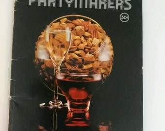 Vintage 1970's cookbook Chex Cereal Recipes Partymakers