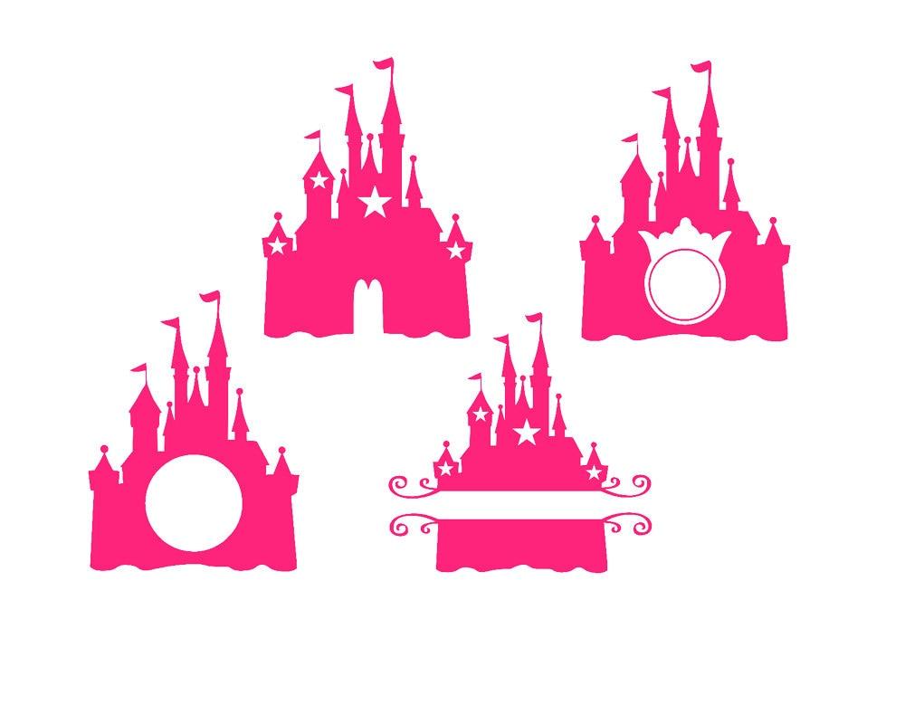 Princess Castle Svg Vinyl Cut Files Cricut Design Spac