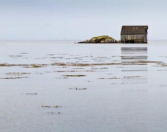 Fishing House Photo - Lake House - Sea House - Northern - Empty - House Digital Photo - Digital Photo - Digital Download - Home Decor