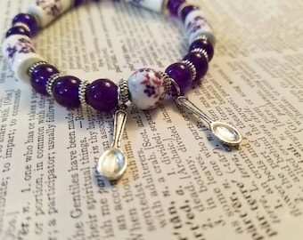 LUPUS SPOONS Beaded Bracelet Lupus Awareness