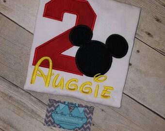 Mickey 2nd Birthday Shirt