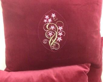 Red Velvet Cushion Cover