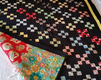 STRIKING 9 PATCH Quilt