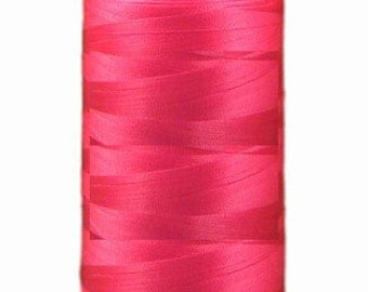 Polyester Embroidery Thread White Thread 5,500 Yards - Berry Pink