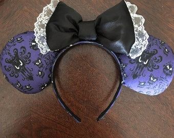 Haunted Mansion Mickey Mouse ears