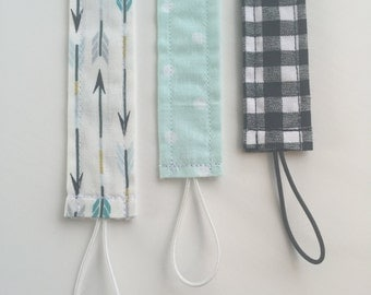 Pacifier Clips/ Boy Pacifier Clips/ Girl Pacifier Clips