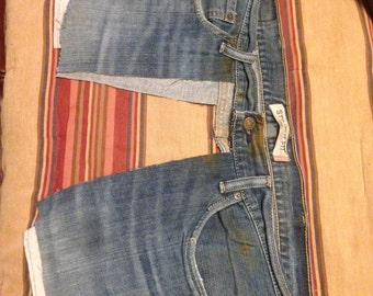 Upcycled Railroad Denim Apron/Toolbelt