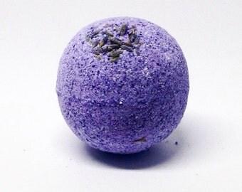 Lavender Bath Bomb Falling Water Soap Company, Handmade Homemade Soap, Bath Fizzie, Bath Fizzy, Bath Fizz Fiz
