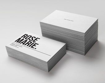 32pt Thick Business Card