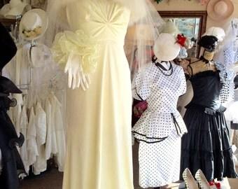 1930's Style wedding dress
