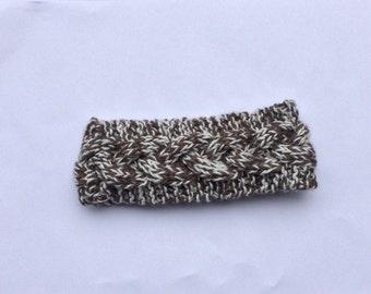 Chocolatey Cable Headband Earwarmer