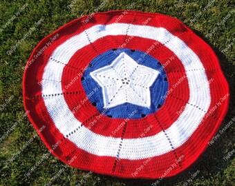 Captain America Blanket & Cape