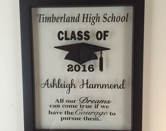 Personalized Picture Frame, Graduation, Graduation Gift, College,  College Graduation Gift, Diploma Frame, Graduate, College Student Gift