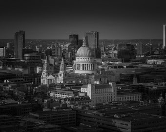 London Print: Righteous, St Pauls Cathedral London, Print, Limited Edition