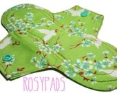8' Moderate Flow, Reusable Pads, Washable Pads, Mama Cloth, Menstrual Pads, Period Pads, Positive Periods