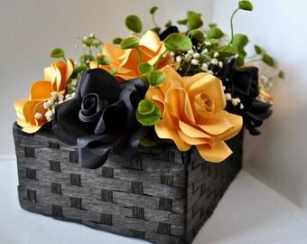 Paper centerpiece - Paper Flower centerpiece- Wedding centerpiece- papre centrepiece - paper flower centrepiece - paper centrepiece -