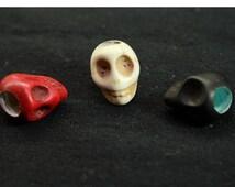 Beard / Dred Skull Bead