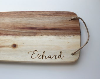 Last Name Cutting Board