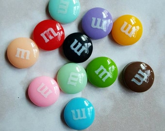 M&M candies lot hairbow centers hair bow centers hairbows