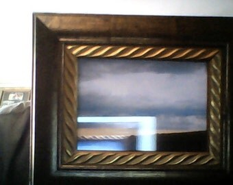 5x7 frame with a design