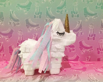 3 Unicorn Mini Piñata for an Awesom party
