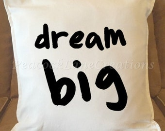 Throw Pillow Cover, Quirky Pillow Cover, Dorm Room Pillow Cover