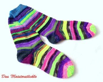 Handknitted socks size 36-38