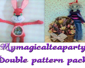 double pattern pack- Bailey and lovely Hannah **SALE**