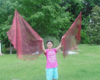 Red Angel Wings Dance Flags Victorious