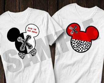 Descendants-inspired Mickey head shirt