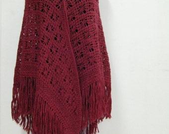 Crochet Shawl for Chic Womens