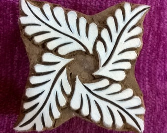 indian block print wood stamp, pottery stamps, textile stamps, wood carved printing block fabric stamps