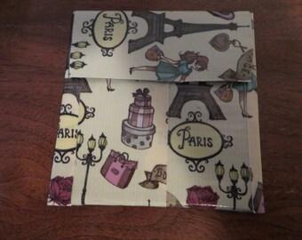 Paris change purse