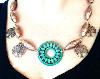 The Sun Queen Necklace