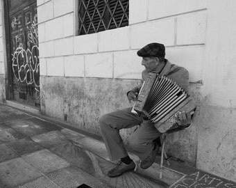 Street Musician in Rome